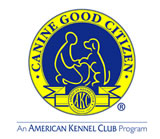 Canine Good Citizen certificate. We encourage all of our new puppy owners to complete a CGC class!